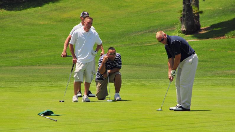 regras do golfe