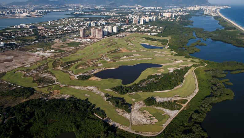 golfe nas olimpíadas