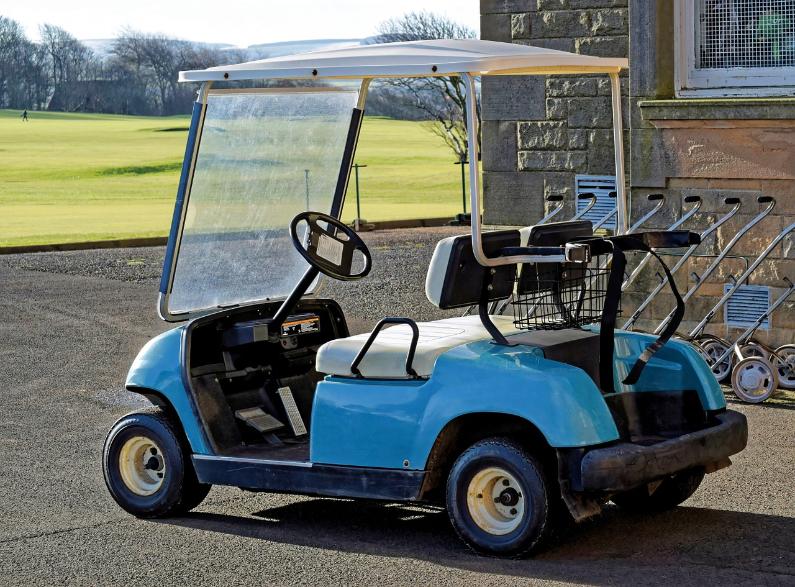 carrinho de golfe