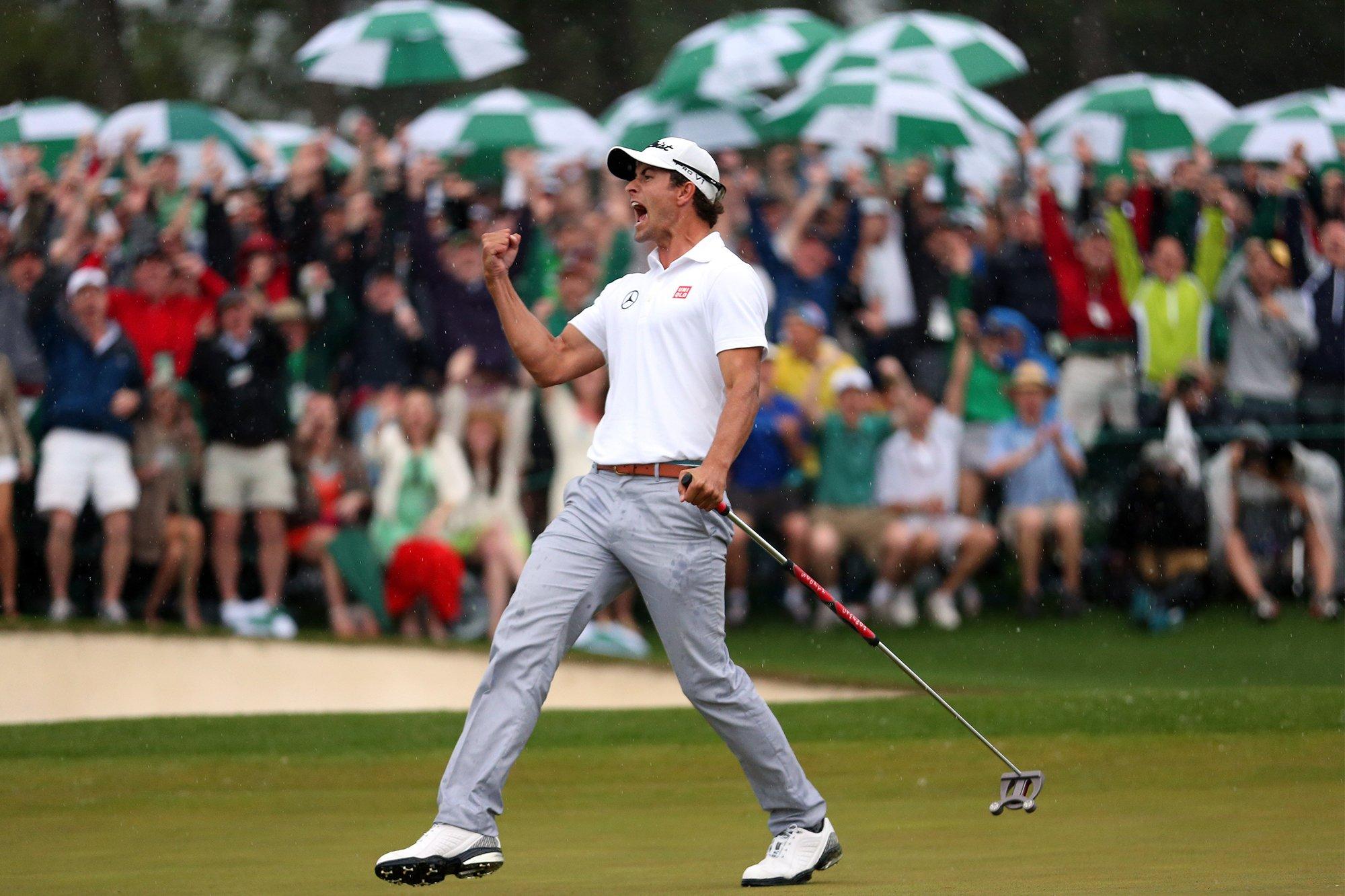Adam Scott vence o Masters Tournament de 2013